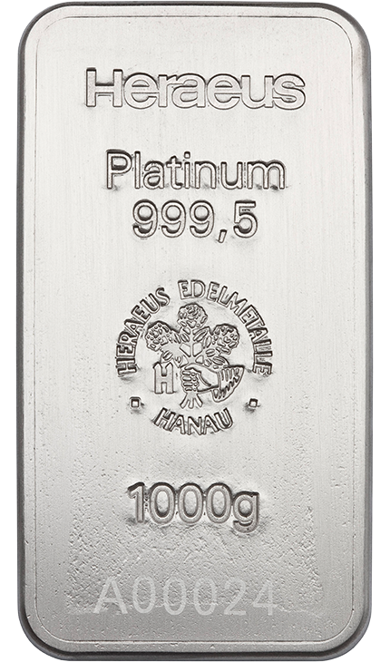 1000g Platinum Bullion