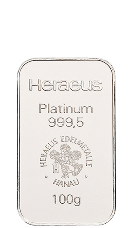 100g Platinum Bullion