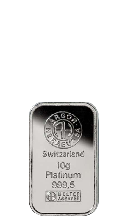 10g Platinum Bullion