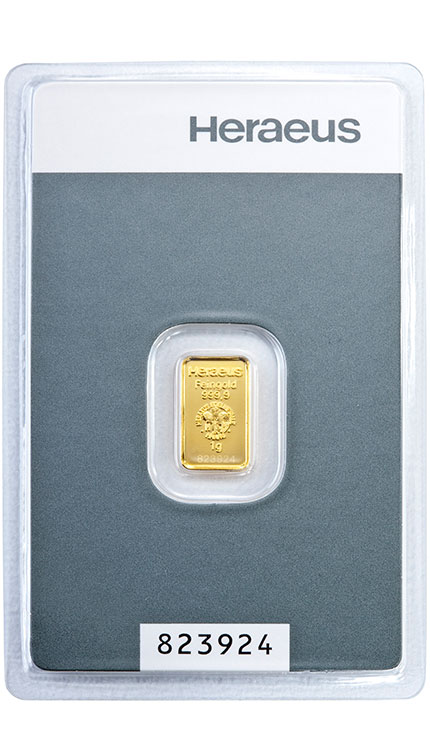 1g Kinebar Gold Bullion