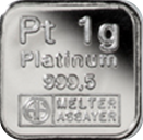 1g Platinum Bullion