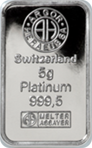 5g Platinum Bullion