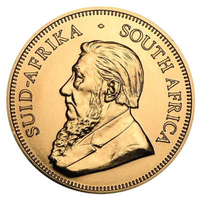 Krügerrand gold coin - South Africa