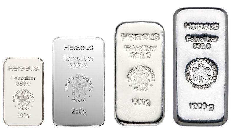 Save on silver bars